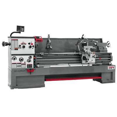 JET GH-2680ZH 4-1/8 Spindle Bore Geared Head Lathe With ACU-RITE 200S DRO