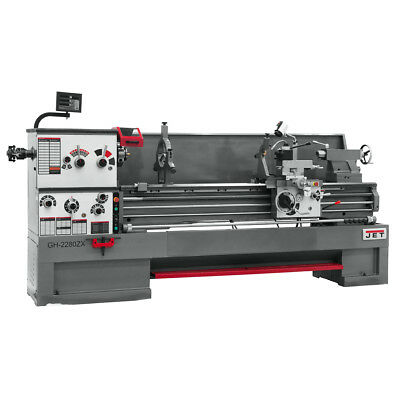 JET GH-26120ZH 4-1/8 Spindle Bore Geared Head Lathe With ACU-RITE 300S DRO