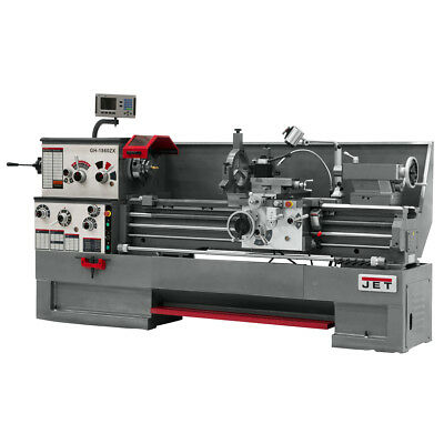 JET GH-1660ZX Large Spindle Bore Lathe With ACU-RITE 200S Taper & Collet Closer