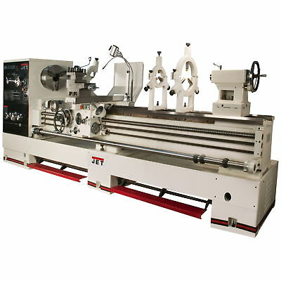 JET GH-26120ZH 4-1/8 Spindle Bore Geared Head Lathe With Newall DP700 & Taper