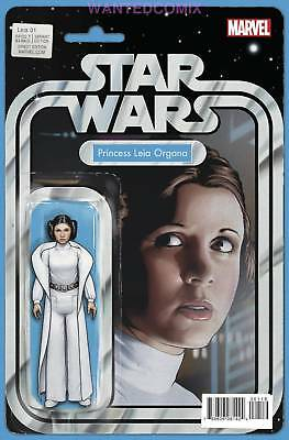 Princess Leia #1 (Of 5) Action Figure Variant Cover Marvel Comic Book Star Wars