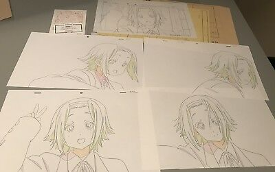 Anime Genga not Cel K-ON! Studio Repro 4 pages #2