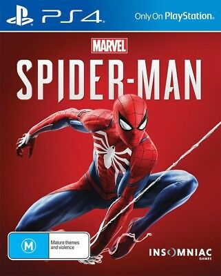 Marvels Spider-Man PS4 Playstation 4 Brand New Sealed