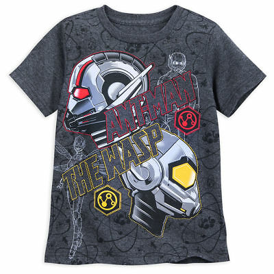 Disney Store Ant Man & The Wasp T Shirt Tee Marvel Boys Toddler Size 2/3