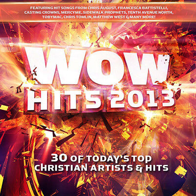 Various Artists- WOW Hits 2013 Today's Top Christian Artists [2CD] 2012** NEW **
