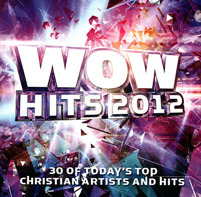 Various Artists- WOW Hits 2012 Today's Top Christian Artists [2CD] 2011** NEW **