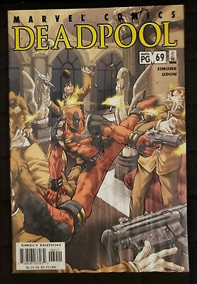 Deadpool (1997) #69 Last Issue (Marvel) Simone/ Udon/ Water Damaged