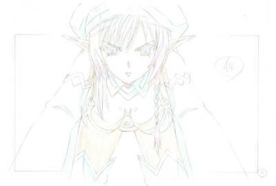 Anime Genga not Cel Queen's Blade #104