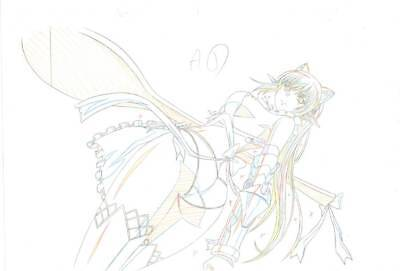 Anime Genga not Cel Queen's Blade #105