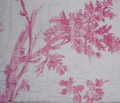 NEW AUTUMN STOCK, RARE 18th CENTURY FRENCH LINEN TOILE DE JOUYc1790 60.