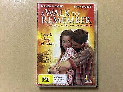 DVD, A Walk To Remember, Mandy Moore, Shane West (D)