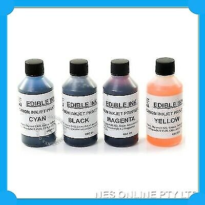 NES Edible Cake Refill Ink Set for Canon Printer PGI650/CLI651 PGI525/CLI-526