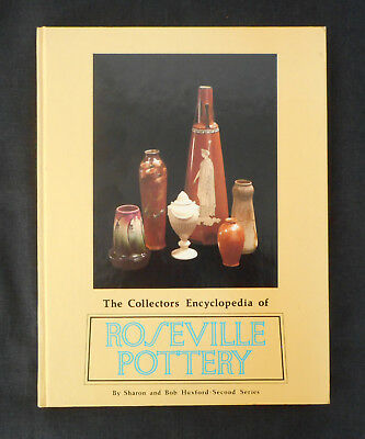 Book Collector's Encyclopedia of Roseville Pottery Second 2nd Series (1980 HC)