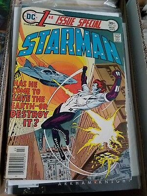 1St Issue Special No. 12 Mar. 1976 Starman Kubert Cover Vosburg Art Dc  Fn
