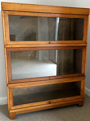 Antique Barristers sectional bookcase most likely by Globe Wernicke