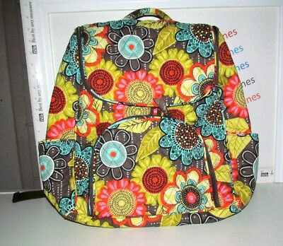b6202a37fc38 NEW RETIRED RARE Vera Bradley Double Zip Backpack In Provencal ...