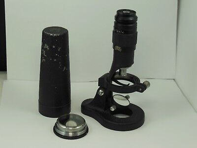 Antique Hensoldt Wetzler TAMI Field Microscope w/ Both Original Bases