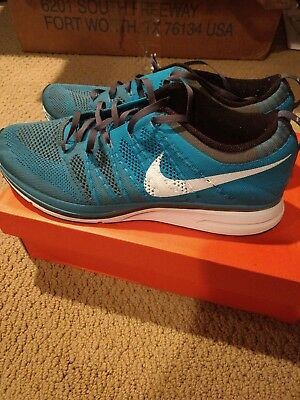 official photos ebd27 dd537 Nike Flyknit Trainer Neo Turquoise 532984-410 Men s Size 11