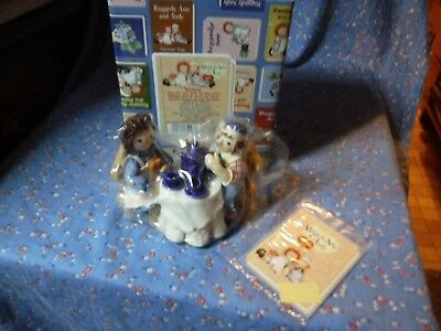 Enesco Raggedy Ann & Andy 832030 Tea for Two With Me And You Tea Party LE