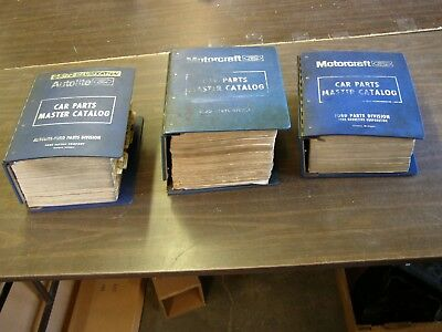 Oem Ford   Master Nos Parts Books Mustang Torino Fairlane Falcon Tbird