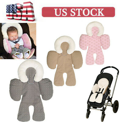 Support Seat Cushion Liner Car Pillow Baby Newborn Pad Head Mat Body Stroller
