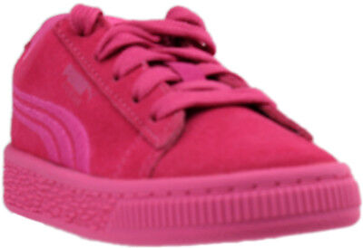 f6c97e9b51a GIRL S PUMA SUEDE Classic Badge Jr Iced 365020 01 Pink Grade School ...