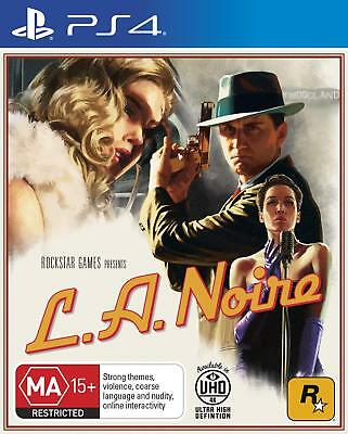 L.A. Noire - Playstation 4 (PS4) Game Brand New Sealed