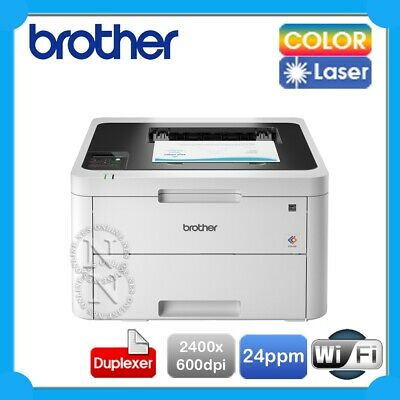 Brother HL-L3230CDW Color Laser Led Wireless USB Printer+Auto Duplex RRP$329
