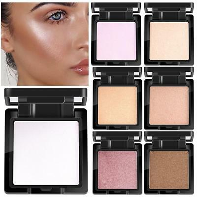 7 Color Highlighter Makeup Shimmer Powder Palette Base Face Contour Bronzer