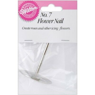 Wilton W4023007 Flower Nail For Icing, 1.5-inch, No.7 - 7 Nail15