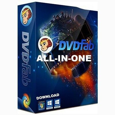 DVDFab✔10 ALL IN ONE [windows only] lifetime use