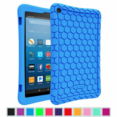 For Amazon Fire HD 8 8th Gen 2018 Silicone Case Shockproof Kid Friendly Cover