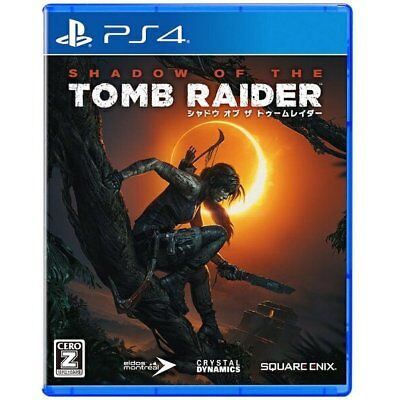 Square Enix Shadow of the Tomb Raider SONY PS4 PLAYSTATION 4 JAPANESE VERSION