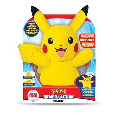 Pokemon Power Action Pikachu Licht Sound Kinderspielzeug Kinder Spielzeug