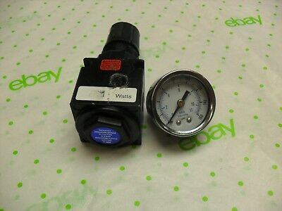 Parker Watts-R35-02C-Regulator-With-0-160 psi-Gauge