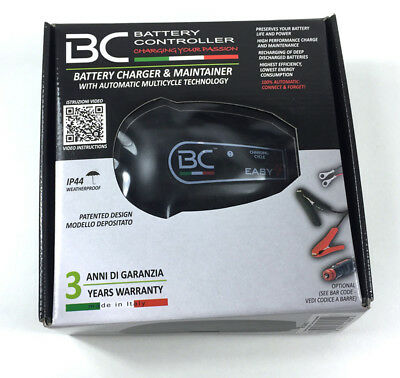 BC BATTERY caricabatterie Easy4 mantenitore piombo acido carica batteria