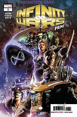 Infinity Wars Prime #1 July 2018 Marvel Avengers Thanos Requiem Comic Book New