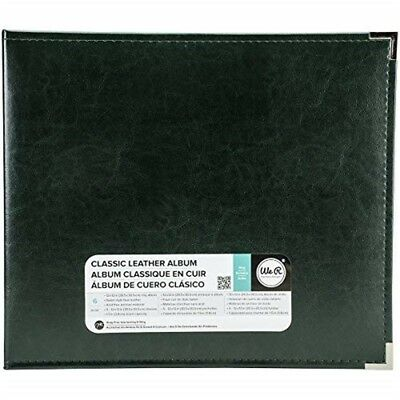 We R Memory Keepers Classic Leather 3-ring Album 12-inch X 12-inch Forest Green