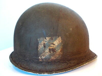 M1 Helmet WWII 3th infantry division Italian campaign