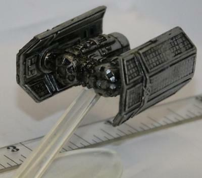 MICRO MACHINES STAR Wars Imperial Tie Bomber Pewter Color