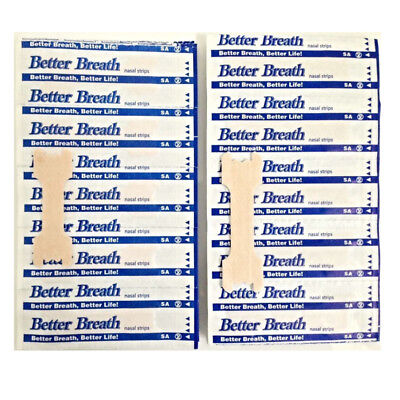 50-200Pcs Better Breath Nasal Strips Med Large Right Aid To Stop Snoring Nh047