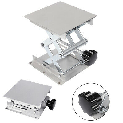 """4"""" 6"""" 8"""" Lab-Lift Lifting Platforms Stand Rack Stainless Steel Laboratory"""