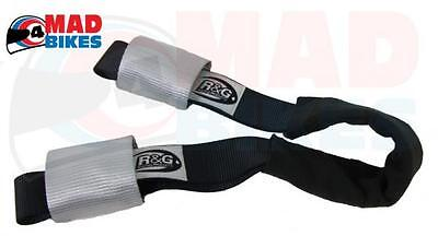 R&G Racing Motorcycle / Motorbike Transport Handlebar Tie Down Top Strap System