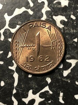 1962 Pakistan 1 Paisa (9 Available) High Grade! Beautiful! (1 Coin Only)