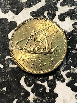 AH 1382 (1962) Kuwait 1 Fils (4 Available) High Grade! Beautiful! (1 Coin Only)