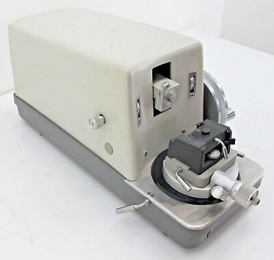 Sorvall JB-4 Microtome With Plastic Trays and Sample Mounts