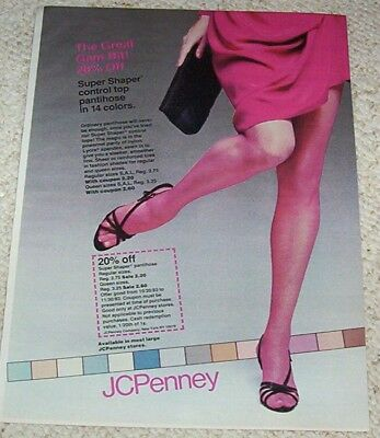 444b7fbf106 1982 VINTAGE AD page - JCPenney lingerie fashion nightgown pajamas ...