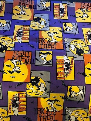 BOUFFANT STYLE SURGICAL Scrub Hat,FUN HALLOWEEN SNOOPY, TRICK OR TREAT