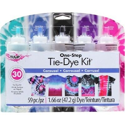 Tulip One-step Tie Dye Kits Carousel - Onestep Tie Kit New Gift Uk Seller
