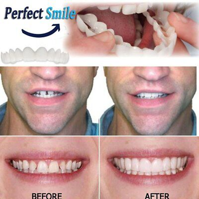 Cómodo Snap On Tooth Instant Perfect Smile Blanqueo Smile Dientes Cubrir dy